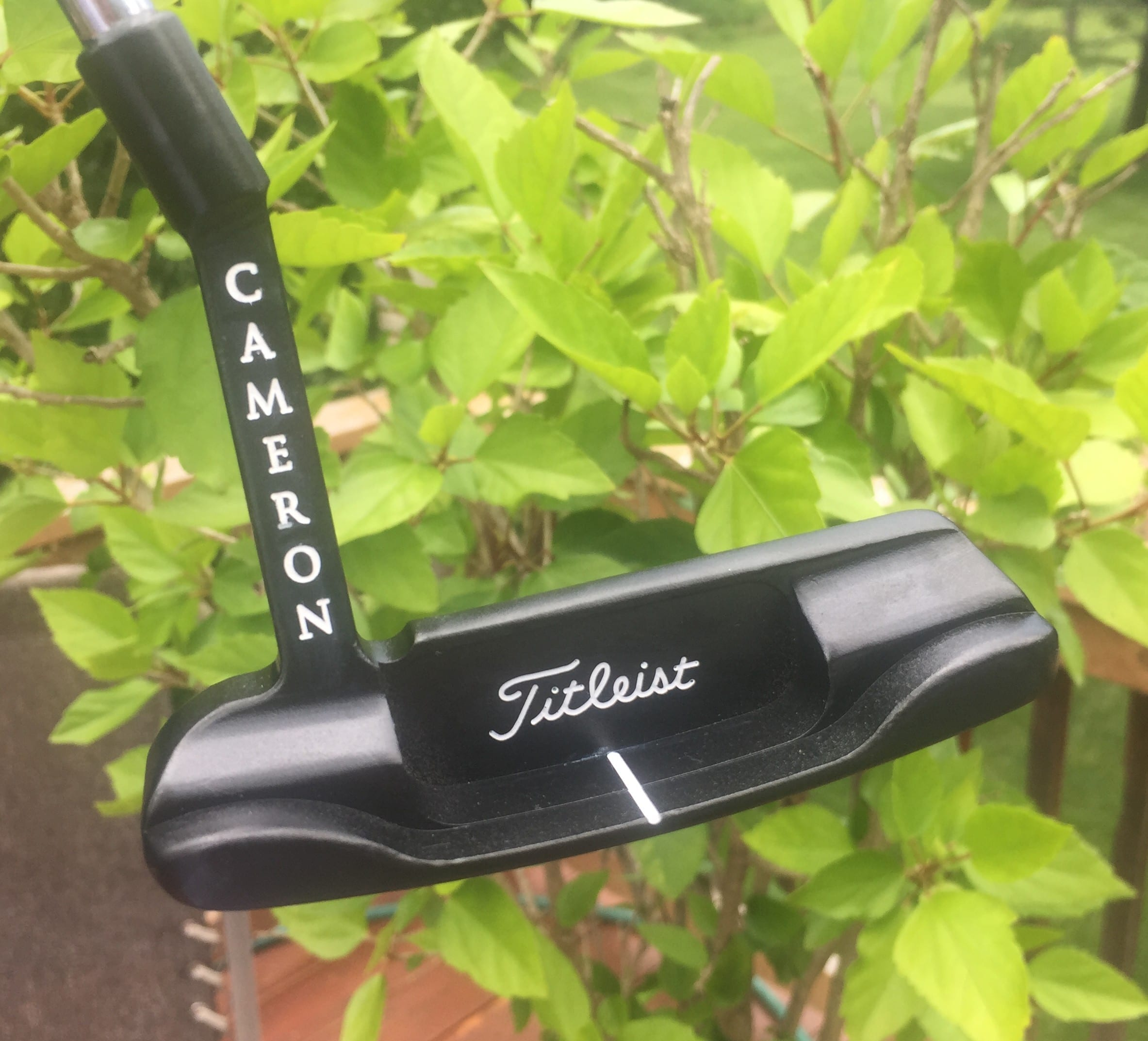 scotty cameron black matte putter