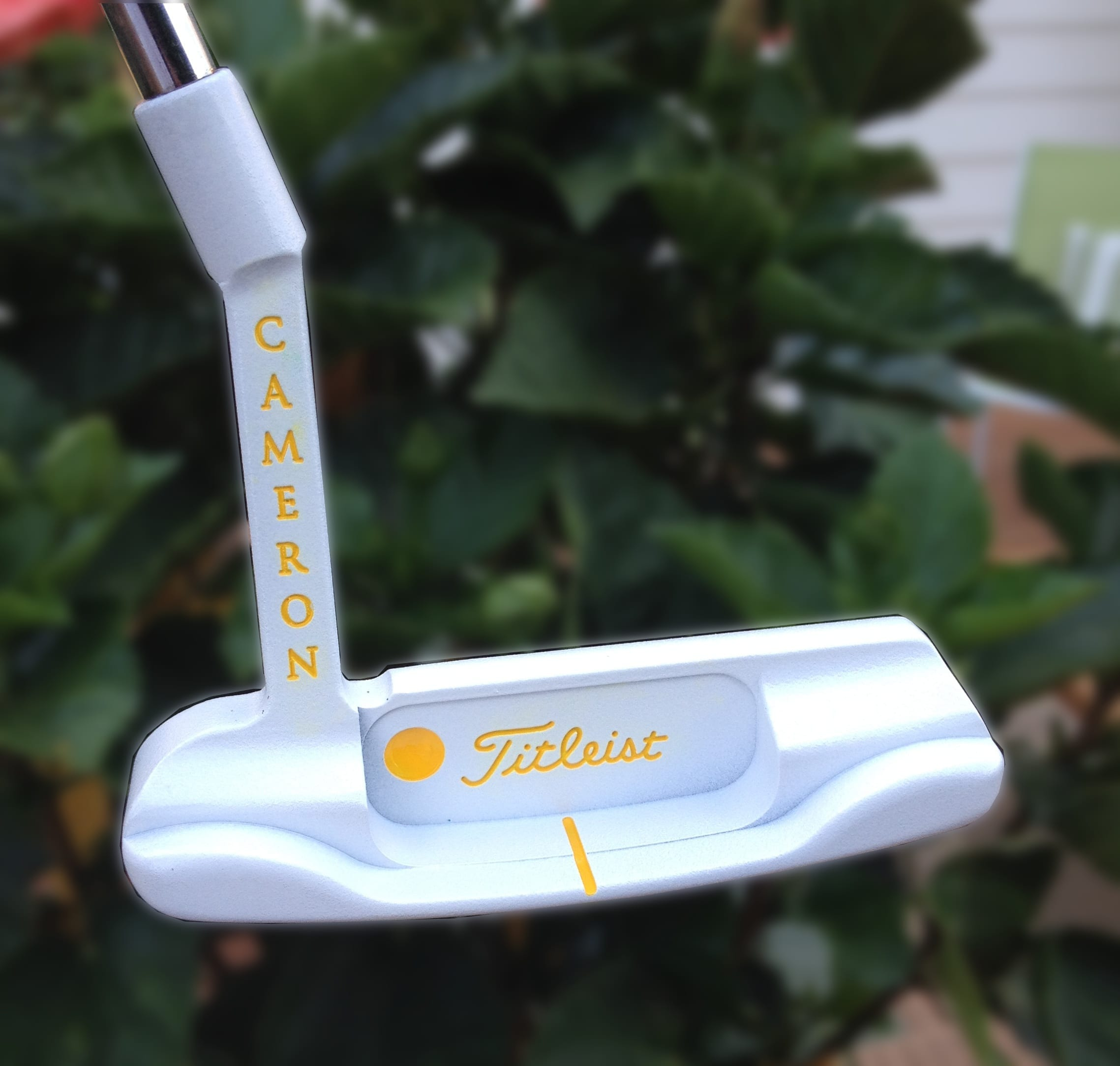 scotty cameron ghost yellow